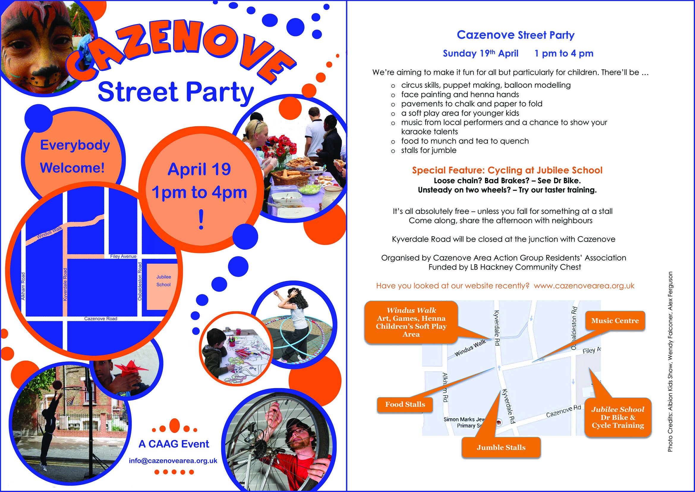 CAAG street party