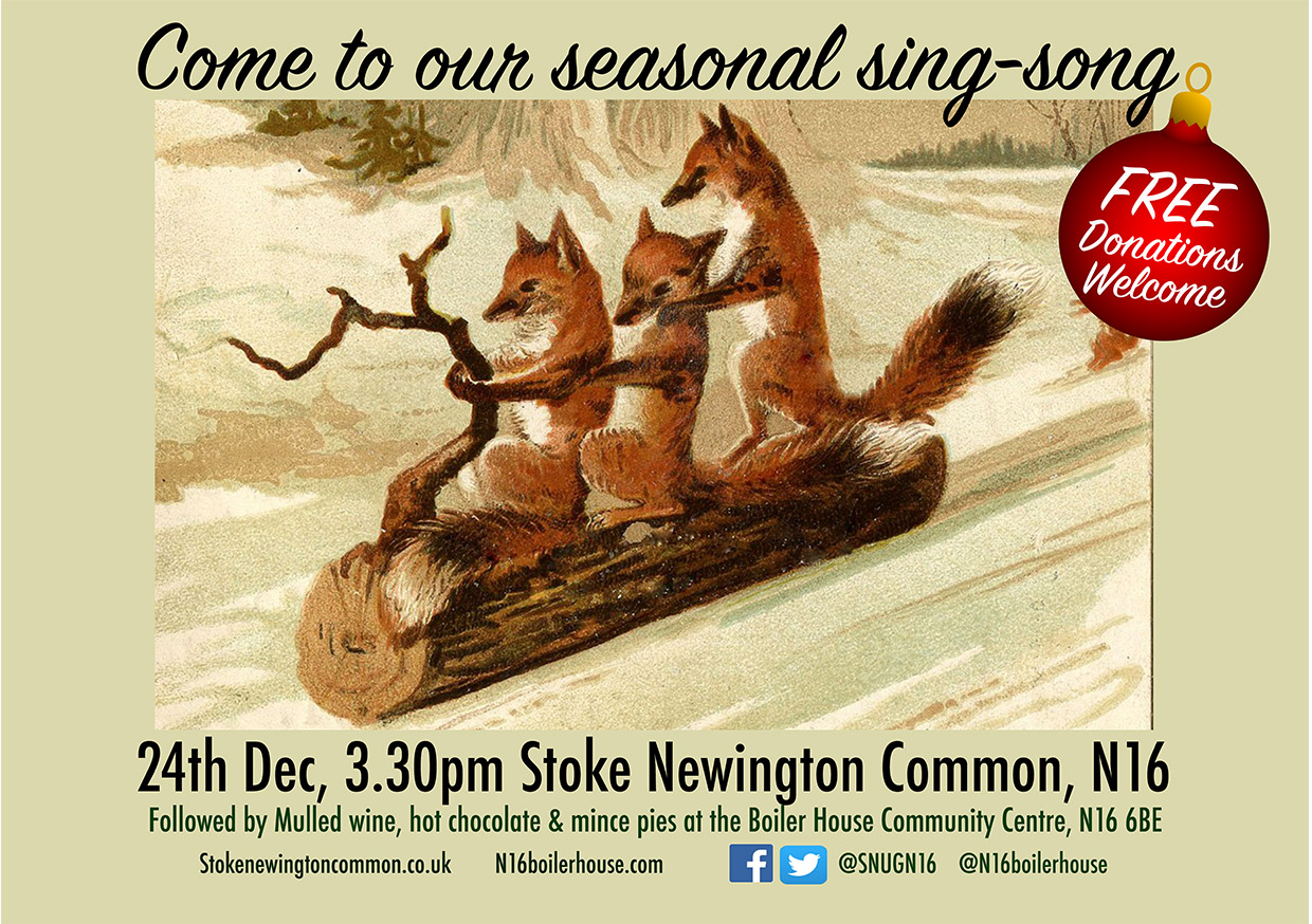 Winter sing song sml poster